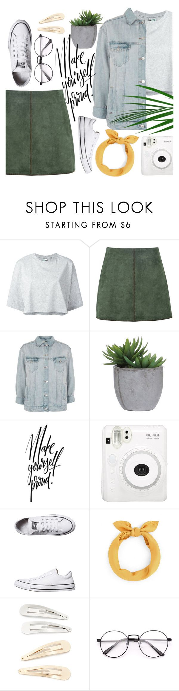 """""""°do everything with love°"""" by andronic-otilia ❤ liked on Polyvore featuring Puma, George J. Love, Topshop, Lux-Art Silks, Converse and Kitsch"""