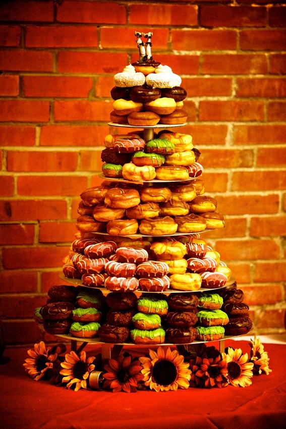Doughnut wedding cake. Rebel Donut. Doughnuts Wedding Cake, Donuts ...: https://pinterest.com/pin/127508233175476029