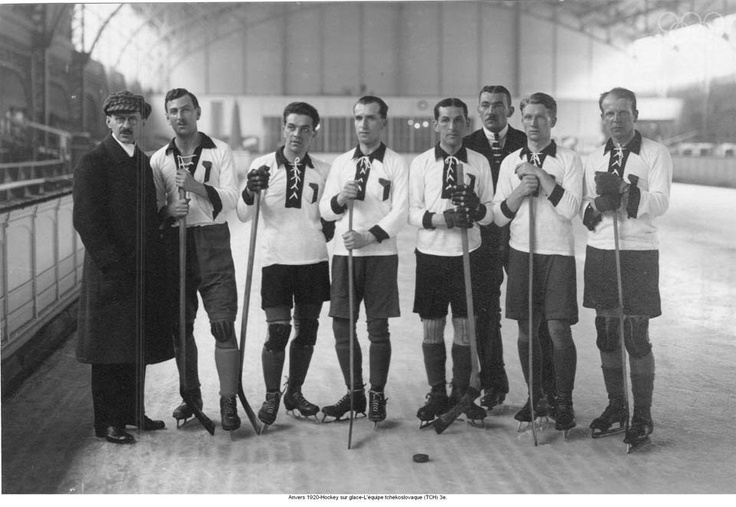 Antwerp, Belgium (1920) hosted the Games post-WWI. Many newly formed countries competed for the first time, including Czechoslovakia, whose ice hockey team took the bronze. (Before the introduction of the Winter Olympics in 1924, winter sports were occasionally featured in summer.) #antwerp #icehockey #olympics #olympiccities