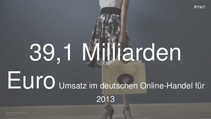 Zahl des Tages; 39,1 Milliarden Euro Umsatz im deutschen #eCommerce