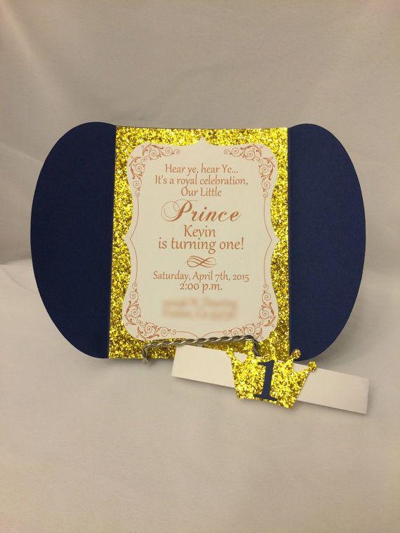 Pink Gold Princess Birthday Invitations OG by CraftySistersPlus1