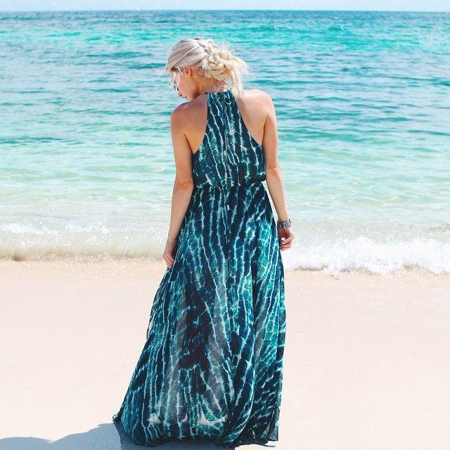 Aspyn in Bahamas