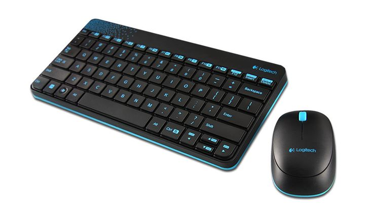 Keyboard Mouse Wireless Combo by Logitech. wireless keyboard with softly rounded keys for typing comfort,  black mouse with rubber grips and smooth, accurate cursor control, perfect mouse and keyboard with affordable price. http://www.zocko.com/z/JJI2d