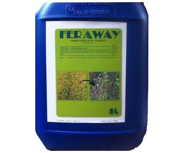 Anti mousse gazon naturel feraway est la solution rapide et durable, produit efficace en quelques heures, sans sulfate de fer - livraison sous 24h...