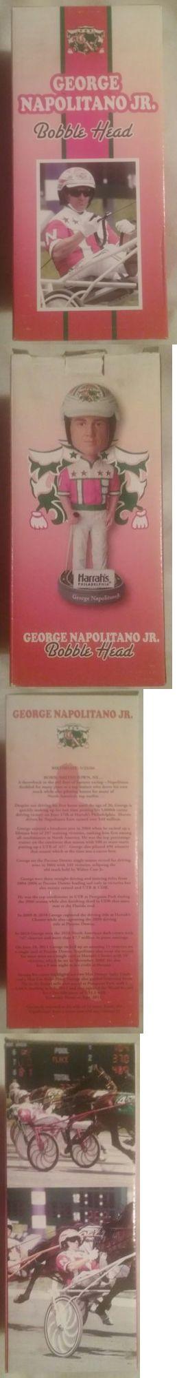 Horse Racing 429: George Napolitano Jr Bobblehead - Harness Racing - Harrahs Philadelphia -> BUY IT NOW ONLY: $99.95 on eBay!