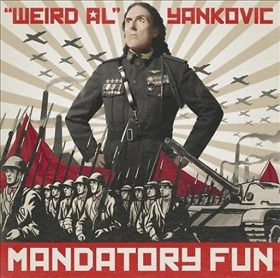 #Mandatory fun by #weird al #yankovic,  View more on the LINK: http://www.zeppy.io/product/gb/2/162104870975/