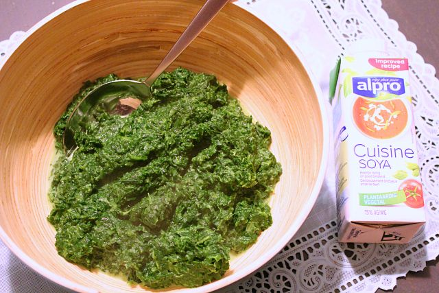 Blondie kookt: Zelf spinazie a la crème maken