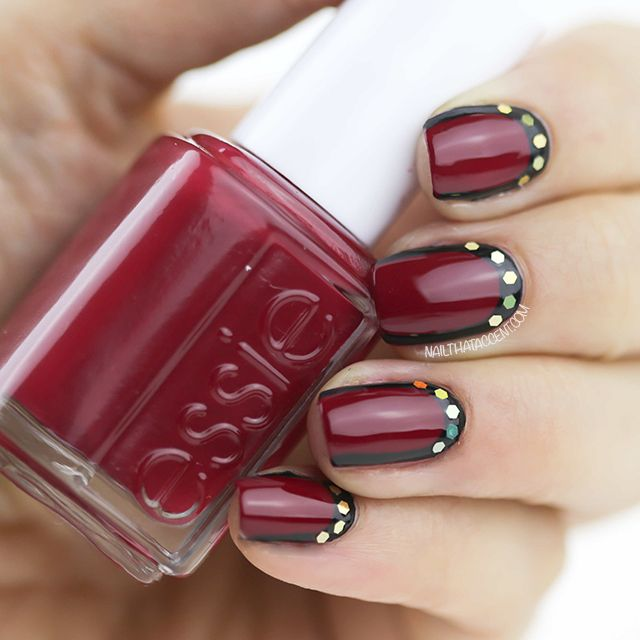Nice Fall Nails 2014 Crest Nail Art Design Ideas Thewowprojectfo