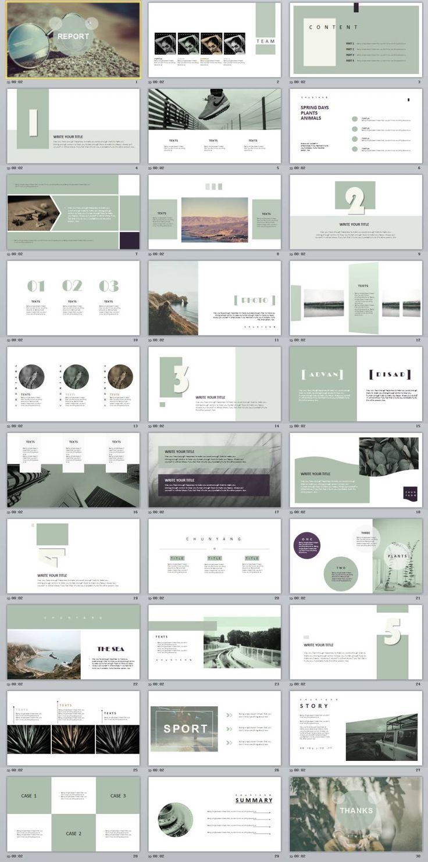 30+ magazine style PowerPoint templates