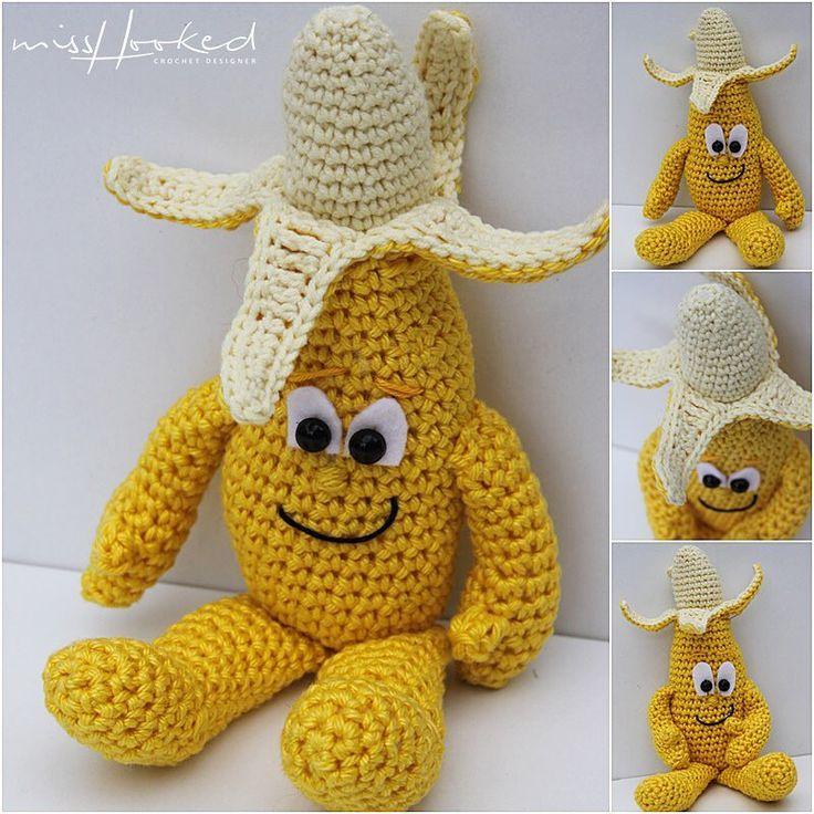 Kijk wat ik gevonden heb op Freubelweb.nl: een gratis haakpatroon van Mrs. Hooked om Vitamini Bert Banaan te maken https://www.freubelweb.nl/freubel-zelf/gratis-haakpatroon-vitamini-bert-banaan/