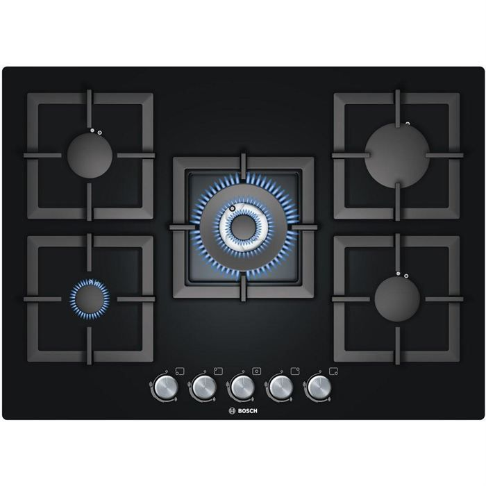 BOSCH - PPQ 716 B 21 E - Plaque gaz dessus verre - Achat / Vente plaque gaz - Cdiscount