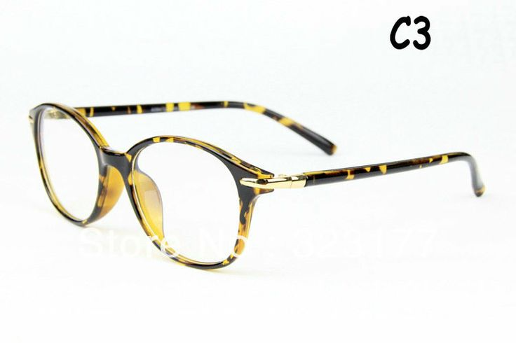 Popular Men Women Optic Frames Plain Mirror Clear Retro Anteojos Oculos Eye Glass Lentes Gafas Armazones Lunettes Free shipping $97.00
