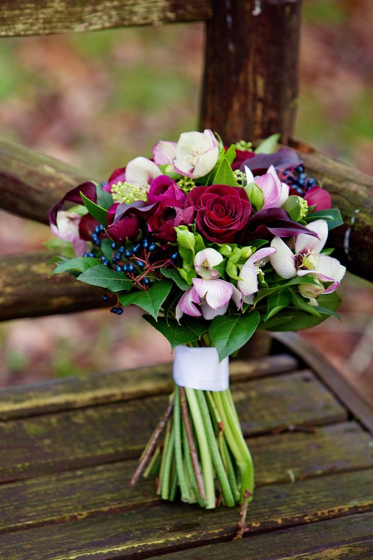 Winter bouquet...have you tried Poppys of Exeter of Haughty Culture of Honiton?