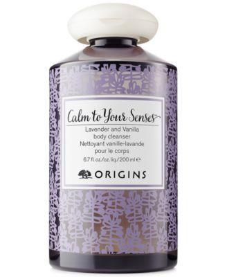 Origins Calm To Your Senses Lavender and Vanilla Body Cleanser | macys.com