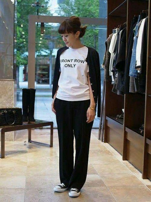 Deuxieme Classe 丸の内店 Deuxieme Classe /丸の内店スタッフさんのTシャツ/カットソー「◆ANNA K FRONT ROW ONLY(Deuxieme Classe ドゥーズィエムクラス)」を使ったコーディネート
