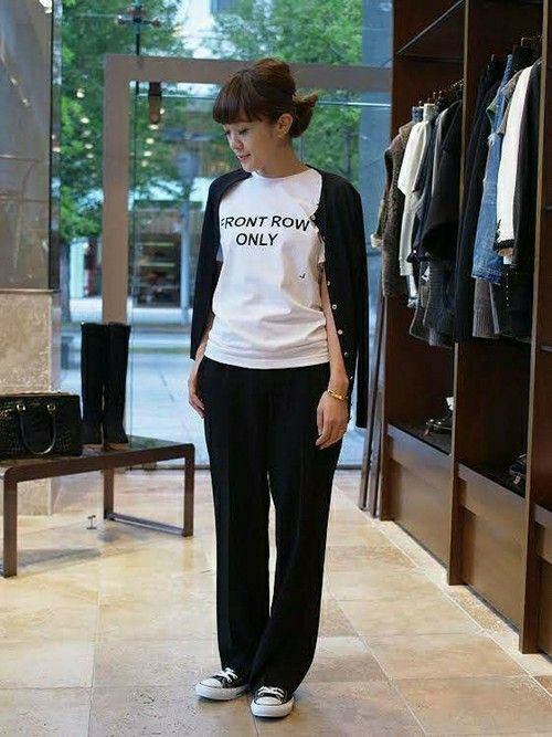 Deuxieme Classe 丸の内店|Deuxieme Classe /丸の内店スタッフさんのTシャツ/カットソー「◆ANNA K FRONT ROW ONLY(Deuxieme Classe|ドゥーズィエムクラス)」を使ったコーディネート