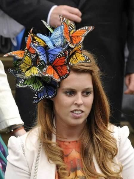 15 of the Craziest Glamorous Hats... I quite like this one sported by Princess Beatrice