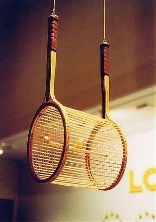 Tenis Raketinden Kuş Kafesi