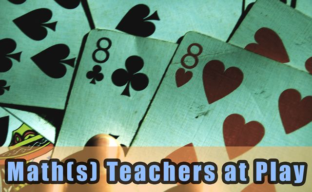 Math(s) Teachers at Play 88: From elementary to high school, manipulatives to Minecraft, there's plenty of fun to be had at this month's math education blog carnival.