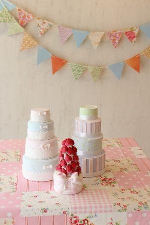 雑誌みたいなディスプレイ  WeddingFactory http://www.weddingpartyfactory.com/