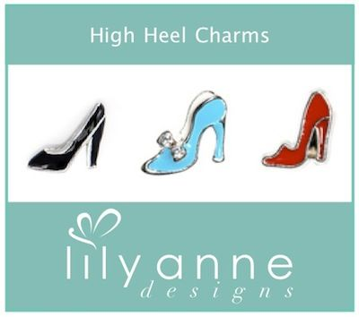Are you a shoe lover!? Check out these gorgeous High Heel Charms to add to your personalised locket :)