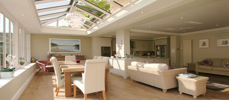 extension with roof lanterns - Google Search
