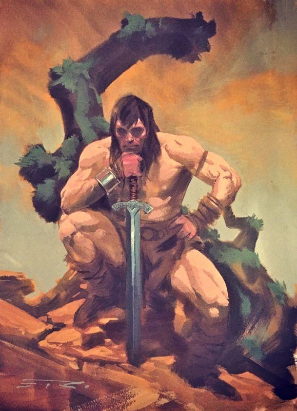 Conan the Barbarian by Esad Ribic