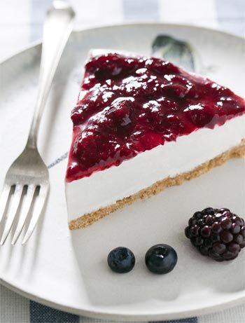 receita, sem glúten, cheesecake, frutas vermelhas, natal