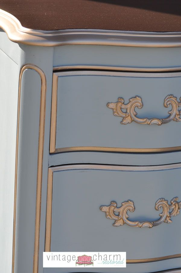 Benjamin Moore Nimbus Gray Bedroom Furniture Makeover- Part 1