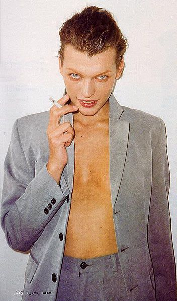Milla Jovovich by Terry Richardson, 1998