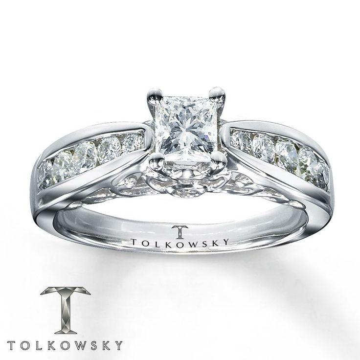 155 best Engagement Rings images on Pinterest Celebrity
