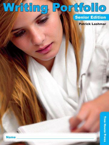 Writing Portfolio Senior Edition - a sturdy, three-pocket process writing student organizer.