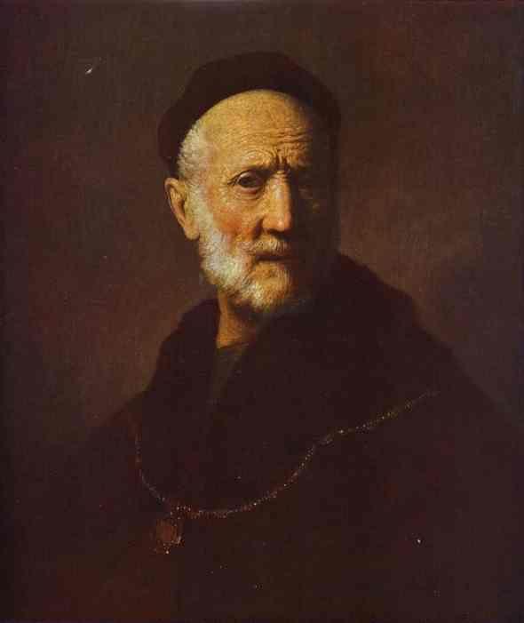 Portrait of Rembrandt's Father — Rembrandt | biblioklept