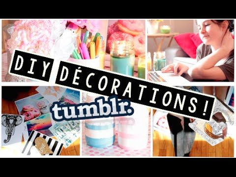DIY Décorations De Printemps! ♡ Facile et Abordable - YouTube