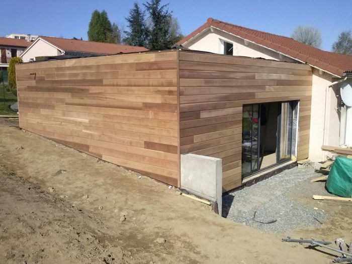 1000 images about extension bois on pinterest red cedar - Bardage red cedar ...