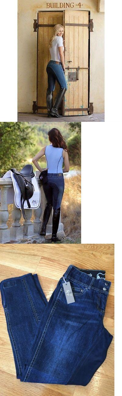 Jodhpurs and Breeches 16242: New - Goode Rider Jean Rider Full Seat Breech, Dark Denim 28R -> BUY IT NOW ONLY: $129.0 on eBay!
