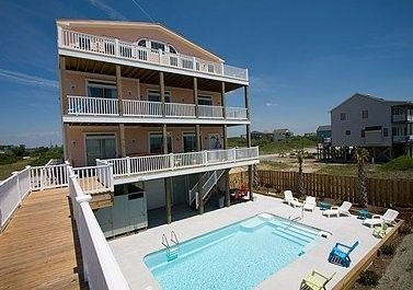 House vacation rental in Dolphin Shores, North Topsail Beach, NC, USA from VRBO.com! #vacation #rental #travel #vrbo