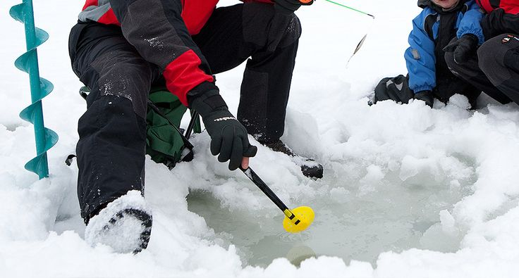 Ice-fishing. Activities - Rokua Geopark, Finland. Rokua Health & Spa Hotel.