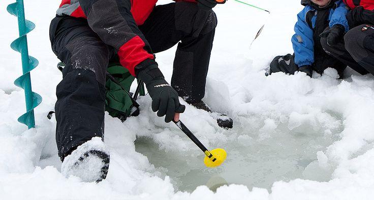 Ice-fishing. Activities - Rokua Geopark, Finland. Rokua Health & Spa Hotel.