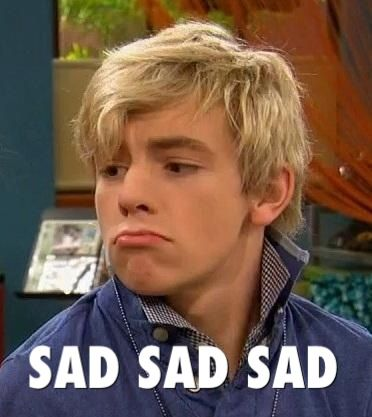 How I feel when an R5 concert or Austin and Ally episode is over.