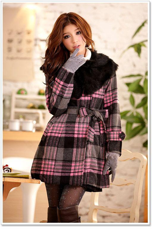 Winter coats k2211 pink [k2211] $21.42 : Yuki Wholesale Clothing - Wholesale Korean Fashion,Japanese Clothing Wholesale,Wholesale Handbags
