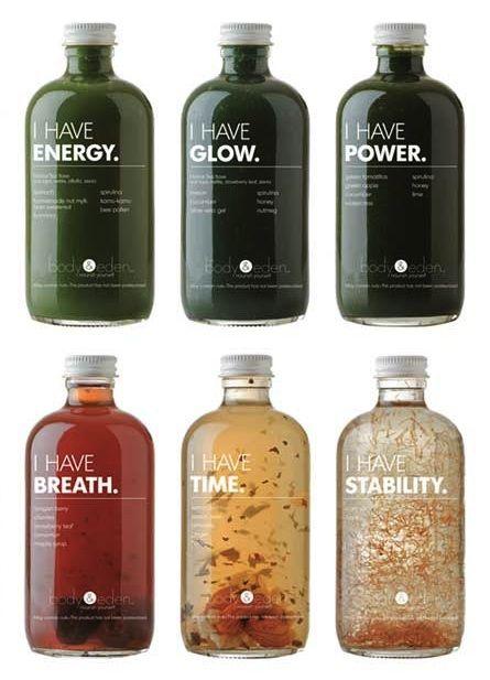 drink packaging ビタミンウォーターとは違うオーガニックな感じ。でも機能性を感じる
