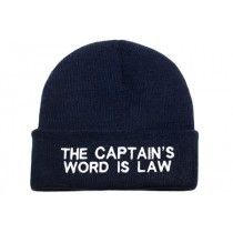 Muts The capt`s word is law