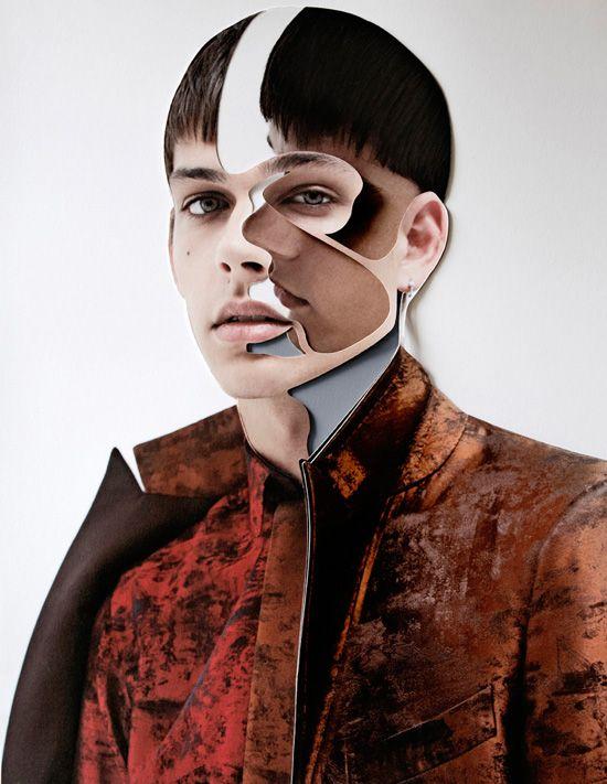 Damien Blottiere - Fashion Collage  #Collage #Photography #Illustration