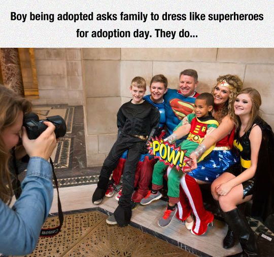 The League Of Justice Becomes A Family