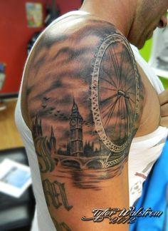 Best 25 carnival tattoo ideas on pinterest circus for Ferris wheel tattoo