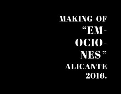 """Check out new work on my @Behance portfolio: """"Making-of """"Emociones""""   Alicante 2016"""" http://be.net/gallery/35025871/Making-of-Emociones-Alicante-2016"""