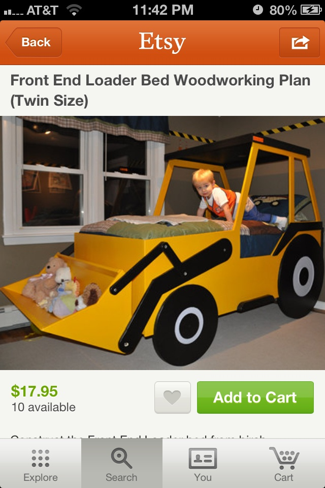 Boy bed jake would love this!