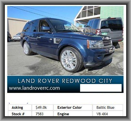 2011 Land Rover Range Rover Sport Exterior: 326 Best Sanjose(auto Sale) Images On Pinterest