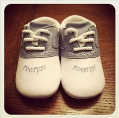 Passing The Club: baby golf shoes